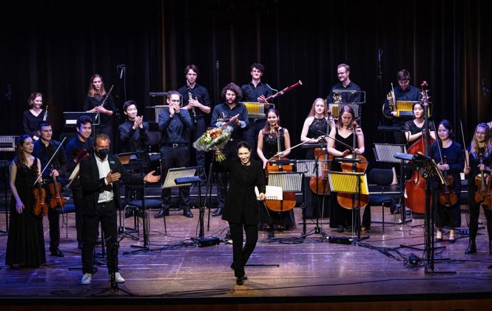 Dirigentin Anna Handler